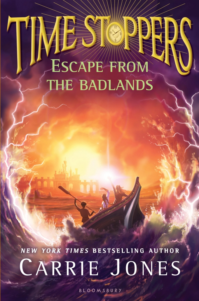 ESCAPE FROM THE BADLANDS by CARRIE JONES